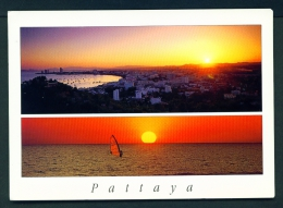 THAILAND  -  Pattaya  Dual View  Unused Postcard - Thailand