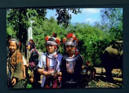 THAILAND  -  I-Ko Hilltribe  Unused Postcard - Thailand