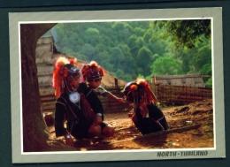 THAILAND  -  E-Kaw Hilltribe  Unused Postcard - Thailand