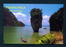 THAILAND  -  Phang-Nga  Unused Postcard - Thailand