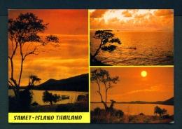 THAILAND  -  Samet Island  Multi View  Unused Postcard - Thailand