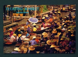 THAILAND  -  Ratchaburi  Floating Market  Unused Postcard - Thailand
