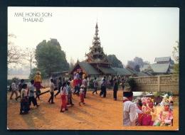 THAILAND  -  Mae Hong Son  Unused Postcard - Thailand