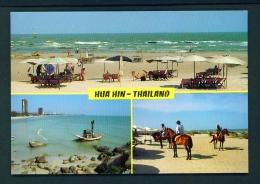 THAILAND  -  Hua Hin  Multi View  Unused Postcard - Thailand