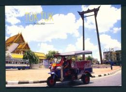 THAILAND  -  Bangkok  Tuk Tuk  Unused Postcard - Thailand