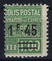 France: Colis Postale Yv Nr 92 MH/* Falz/ Charniere - Parcel Post