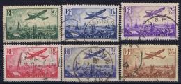 France:   Yv Nr 8 - 13 AE Gestempelt/used/obl. - 1927-1959 Used