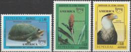 """HONDURAS 1294-6 """"Amerika:Naturschutz"""" MNH / ** / Postfrisch - Honduras"""