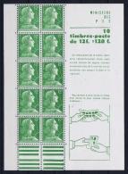 France:   Yv Nr 1010 C  MNH/**/postfrisch/neuf  Carnet - Booklets