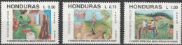"""HONDURAS 1122-4 """"Internationaler Kongress über Die Bekämpfung Von Landwirtschaftsschädlingen"""" MNH / ** / Postfrisch - Honduras"""