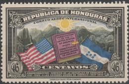 """HONDURAS 347 """"150 Jahre Verfassung Der Vereinigten Staaten"""" MNH / ** / Postfrisch - Honduras"""
