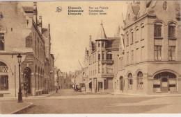 Nels Kaart Opbouw 1925  Kiekenstraat  Verstuurd Met Afrekening In Perfekte Staat. - Diksmuide