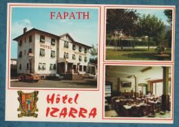 64-SAINT-ÉTIENNE DE BAIGORRY-Hôtel-Restaurant Izzara-voitures- Lot De 2 Cartes Postales Modernes -non écrites-2 Scans- - Cartes Postales
