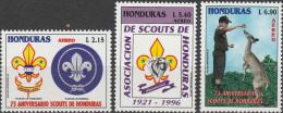 """HONDURAS 1316-8 """"75 Jahre Pfadfinder In Honduras"""" MNH / ** / Postfrisch - Honduras"""