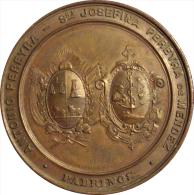 URUGUAY. MEDALLA TALLERES DON BOSCO. MONTEVIDEO. 1.896 - Profesionales / De Sociedad