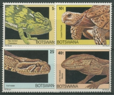 Botswana 1980 Reptilien Schlange Schildkröte 243/46 Postfrisch - Botswana (1966-...)