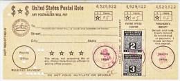 U.S.  POSTAL SAVINGS NOTE  On CARD   (o) - Revenues