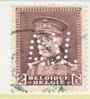 BELGIUM  232    (o) - Perfins