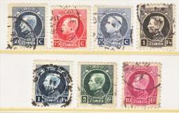 BELGIUM  162 +    (o) - 1921-1925 Small Montenez
