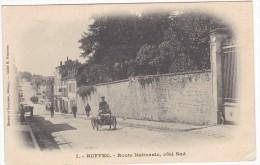 RUFFEC. - Route Nationale, Côté Sud Jolie Carte Précurseur - Ruffec