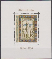 Luxemburg 1974 MiNr.898 Block 9 ** Postfr. Caritas (  1786 ) - Neufs