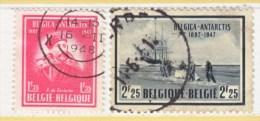 BELGIUM  371-2  (o)  POLAR  EXPLORER - Belgium