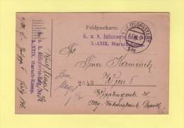Felpostamt 136 - Regiment Infanterie - XXIX Marsch Komp - Allemagne