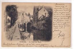 Dixmude     LE Pont Du Nord.   Kaart Verstuurd 1900  .in Perfekte Staat.Editeur  Sackenpre - Diksmuide