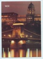 Budapest - Chain Bridge And Palace - Stamps - Hungary