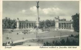 BUDAPEST - Millenium Und Helden Denkmal - Hongrie