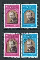 Nauru 1974 Christmas Reverend Delaporte Set Of 2 Both MNH & FU - Nauru
