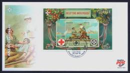"2015 MALTA ""ANZAC CENTENARY / WORLD WAR I"" FDC - Malta"
