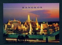 THAILAND  -  Bangkok  Temple Of The Emerald Buddha  Unused Postcard - Thailand