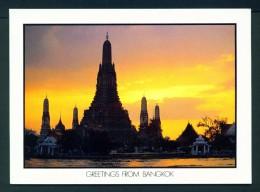 THAILAND  -  Bangkok  Wat Arun  Temple Of The Dawn  Unused Postcard - Thailand
