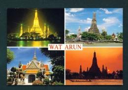 THAILAND  -  Bangkok  Wat Arun  Multi View  Unused Postcard - Thailand