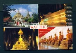 THAILAND  -  Bangkok  Wat Pho  Multi View  Unused Postcard - Thailand