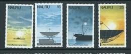 Nauru 1977 Cable & Satellite Comminications Set Of 4 MNH - Nauru