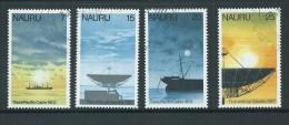 Nauru 1977 Cable & Satellite Comminications Set Of 4 FU - Nauru
