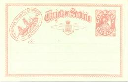 ADMINISTRACION PRINCIPAL DE CORREOS VALPARAISO - CHILI CHILE COLON ENTIER POSTAUX ENTERO POSTAL SIN CIRCULAR - Chile