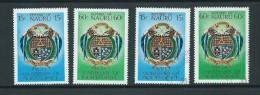 Nauru 1978 Independence Anniversary Set Of 2 Both MNH & FU - Nauru