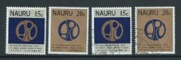 Nauru 1978 Asian Parliament Set Of 2 Both MNH & FU - Nauru
