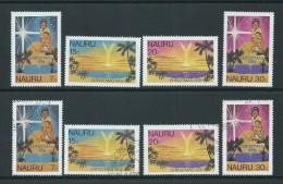 Nauru 1978 Christmas Set Of 4 Both MNH & FU - Nauru