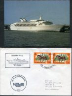 Cayman Islands M/S Southward Ship Cover Paquebot + Postcard - Cayman Islands