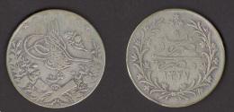 Egypt 10 QIRSH 1327/6 - 1913 - Silver - Egipto