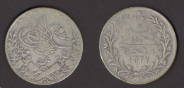 Egypt 10 QIRSH 1327/6 - 1913 - Silver - Egitto