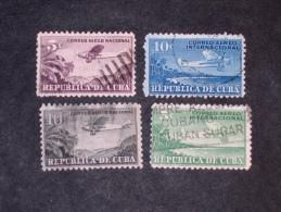CUBA     1931-46   LOT# 9 - Poste Aérienne