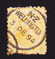 New Zealand, Scott #63, Used, Queen Victoria, Issued 1882 - 1855-1907 Crown Colony