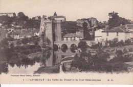 Cp , 79 , PARTHENAY , La Vallée Du Thouet Et La Tour Saint-Jacques - Parthenay