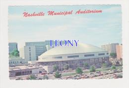 CPM  D´ AMERIQUE -  NASHVILLE MUNICIPAL AUDITORIUM - TENESSEE - - Nashville