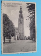 Toren Der Sinte Katharina Kerk / Anno 1949 ( Zie Foto Voor Details ) !! - Hoogstraten